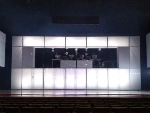 Set design by Ascon de Nijs, sound installation by Jonathan Reus