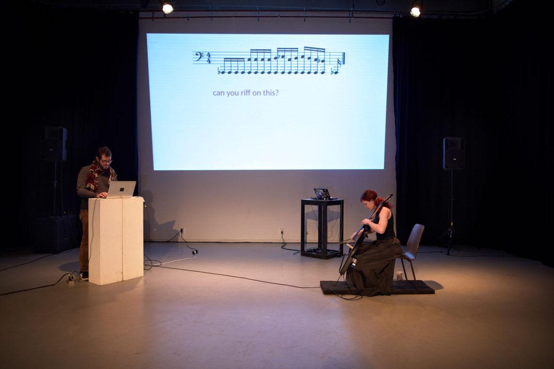 trans//code, Jonathan Reus and Maya Fridman