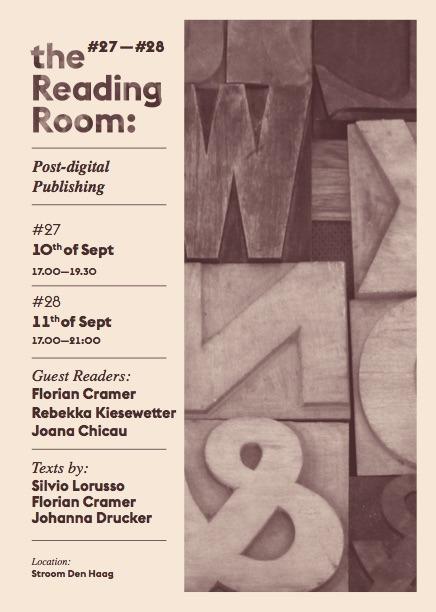 Post-Digital Publishing